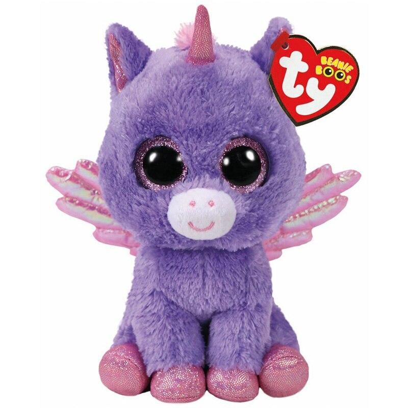 Ty Athena The Unicorn Plush Animal Toys Stuffed Doll Gift 15cm