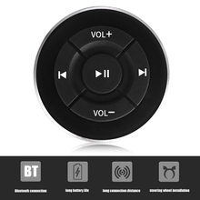 Bluetooth Car Remote Controller Wireless Design Steering Wheel Media Shutter mp3 Music Play For Android IOS