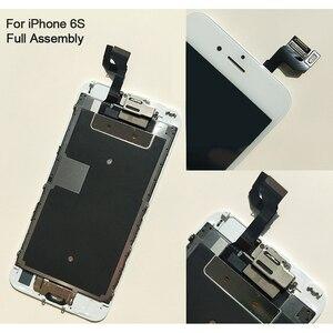 Image 5 - Kompletny wyświetlacz LCD lub komplet lub ekran dla iphone 5S 6S 7 7P lub dla iphone 6 z przyciskiem Home i przednim aparatem
