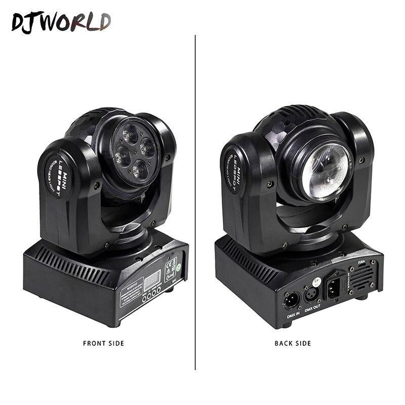 LED Mini faisceau Double côtés 1x10W + 1x10W rotatif tête mobile effet de scène pour événement fête Dj Disco lumière piste de danse spectacles