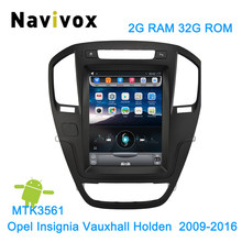 Navivix 10.4'' Android 6.0 Car dvd player GPS Navigation For Opel Insignia Vauxhall Holden CD300 CD400 2009-2016 radio(China)