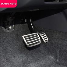 Jameo-accessoires pour pédale de gaz de voiture, en acier inoxydable, couvercle de frein, pièces pour Volvo XC60 V60 S60 S40 C30, 2010 - 2016