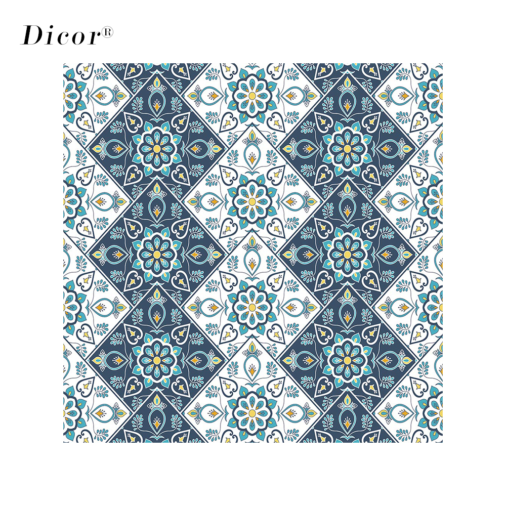 DICOR 200cm New Styles Electrostatic Frosted Stained Glass Window Sticker Church Home Foil Stickers PVC Waterproof Window Films image