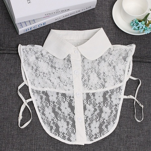 Cotton Lace Fake Collar