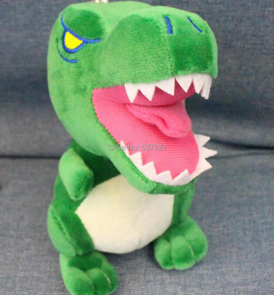 """Новый 10 шт 2 стиля большая белая акула динозавр 5 """"13 см плюшевый брелок-подвеска"""