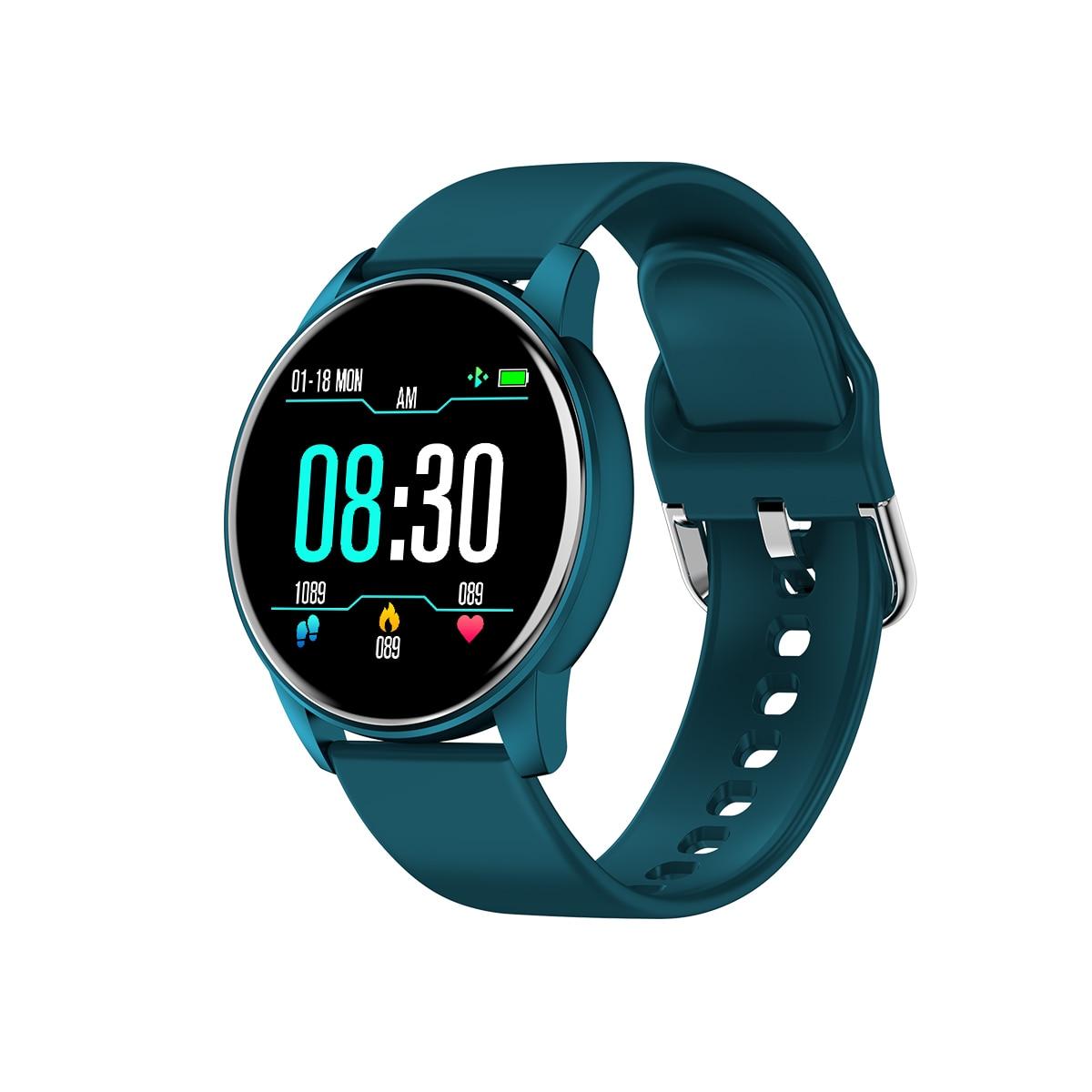LEMFO Smart Watch Women Sports Tracker Heart Rate Blood Pressure Monitor Waterproof Long Standby Smart Watch Men For Android IOS
