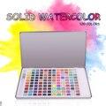6-120 цветов s краска для воды однотонный набор акварельных красок набор цветов для путешествий пигмент для начинающих Рисование водные цветн...
