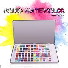 6 120 цветов s краска для воды однотонный набор акварельных