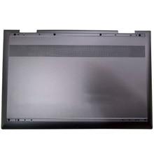 NEW For HP ENVY X360 15-CN 15-CN013TX 15M-CN 15m-CN0000 15m-cn0011dx TPN-W134 Laptop Bottom Case L23794-001 Black Silver 95%new for hp pavilion 15 au 15 aw 15 al tpn q172 tpn q175 laptop palmrest upper case us keyboard touchpad 856040 001 eag3400409