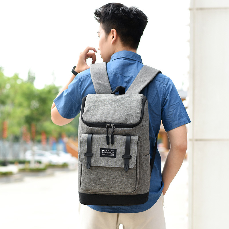2019 Fashion Large Capacity Business Travel Man Backpack Bagpack Antitheft Laptop Bag Multifunctional Men Shoulder Bag Rucksacks