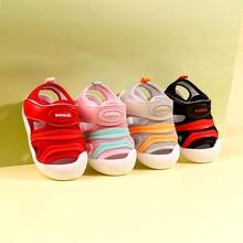 baby shoe summer anti-slip Velcro toddler shoe