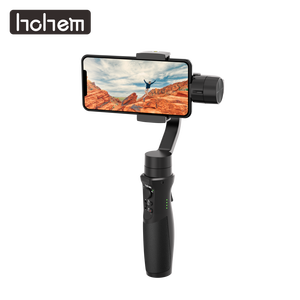 Image 1 - Hohem Smartphone Gimbal iSteady נייד בתוספת 3 ציר כף יד מייצב עבור iPhone 11X8 7 6 & Huawei & Xiaomi Smartphone