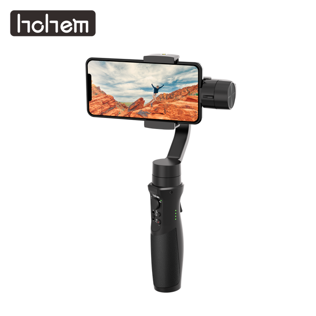 Hohem Smartphone Gimbal iSteady נייד בתוספת 3 ציר כף יד מייצב עבור iPhone 11X8 7 6 & Huawei & Xiaomi Smartphone