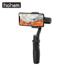 Hohem iSteady Mobile Plus 3-Axis Handheld Smartphone Gimbal Stabilizer for iPhone Xs Max Xr X 8 7 6& Huawei& Samsung Smartphone freevision vilta m 3 axis handheld gimbal smartphone stabilizer for iphone xs samsung gopro hero5 6 7 yi 4k pk dji osmo mobile 2