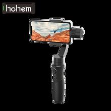 Стабилизатор Hohem для смартфона iSteady Mobile Plus, 3 осевой Ручной Стабилизатор для смартфонов iPhone 11X8 7 6, Huawei и Xiaomi