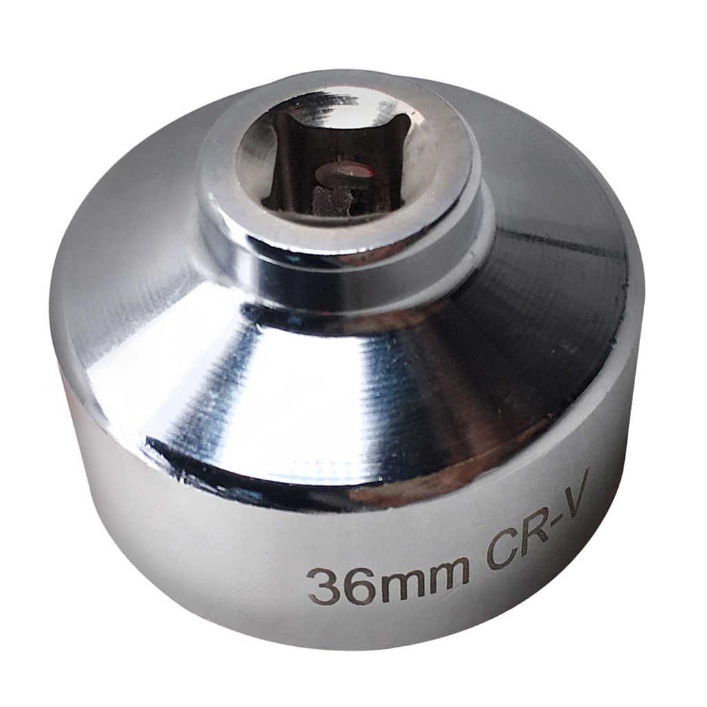 Llave de filtro de aceite de 36mm, toma de filtro de aceite para vehículos Audi Porsche