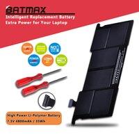 بطارية لاب توب Batmax A1375 لأجهزة ماك بوك اير 11 بوصة A1375 A1370 (إصدار أواخر 2010 فقط) MC505LL/A MC506LL/A MC507LL/A 661-5736