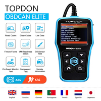 TOPDON OBD2 Scanner Code Readers Full function ABS/SRS Car Diagnostic Tool Auto Scanner OBDII OBD Automotive Scanner for Car