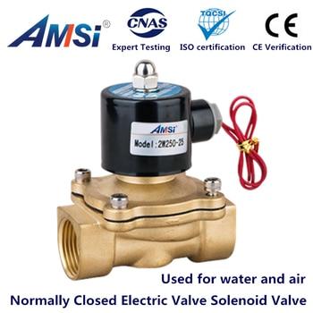 DN15 DN20 DN25 Electric solenoid valve AC220V/110V;DC24V/12V DN08 DN10 NC Water Valve Air Valve 1/4