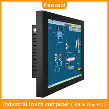 """Feosaid 104 дюймов промышленный сенсорный компьютер 10 """"Мини"""