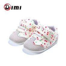 DIMI 2021 yeni moda Sneakers yenidoğan bebek kız ayakkabı PU deri erkek bebek yürüyor yumuşak taban ilk yürüyüşe bebek ayakkabıları
