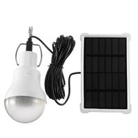 20W Panel słoneczny 140 lm USB 7 8 godzin na zewnątrz Camping w Lampy solarne od Lampy i oświetlenie na