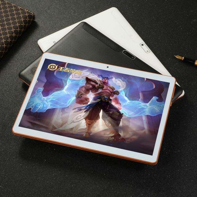 2020 nowy 10.1 calowy android 8.0 Tablet Pc 6GB i 64GB 128GB podwójna karta SIM 4G LTE HD duży ekran podwójny aparat 8 rdzeń tablety