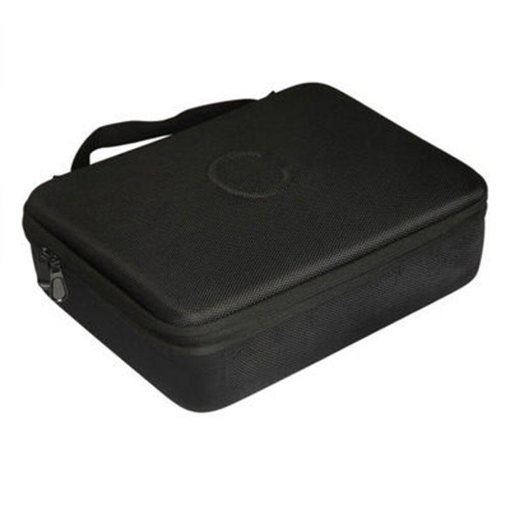 Holder Square Game Card Storage Bag Case Black Travel Removable Dividers EVA For Cards Against Humanity