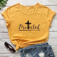 T-shirt femme église catholique et chrétienne, religieux, jésus de la Bible, citation, collection 91