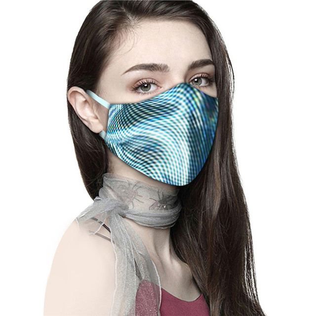 Adult Couple Printing Mask Outdoor Cycling Breathable Sports Outdoor Mask Star Wars Cotton Storage Reusable Protection Virus 3