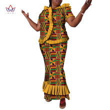 2021 новый комплект из обуви в африканском стиле принтовая юбка