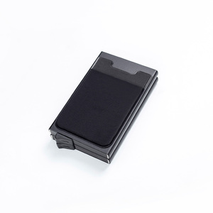 2020 красочный Смарт RFID блокирующий ID кредитный держатель Hasp Алюминиевый металлический кредитный бизнес мини карточный кошелек Прямая поста...