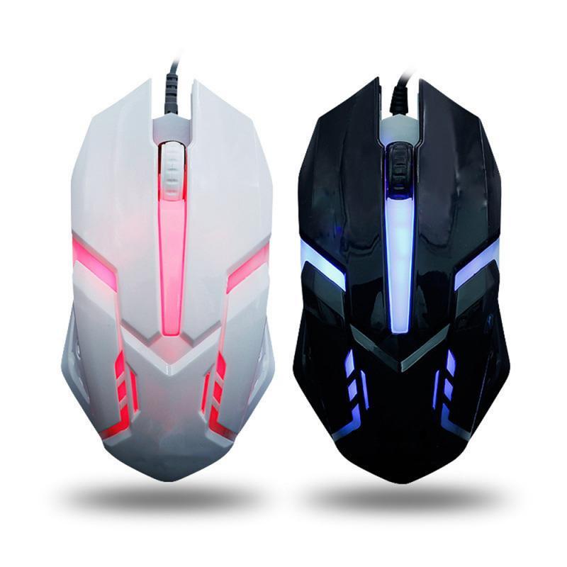 Мышь компьютерная игровая Проводная эргономичная со светодиодной подсветкой