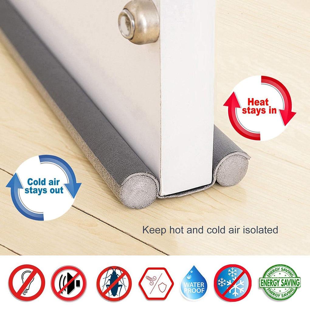 Under Door Draft Guard Stopper Sound Proof Reduce Noise Door Bottom Sealing Weather Strip Under Door Draft Guard