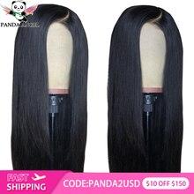 Panda 13x4 Lace Front Wigs 8-30inches Brazilian Straight