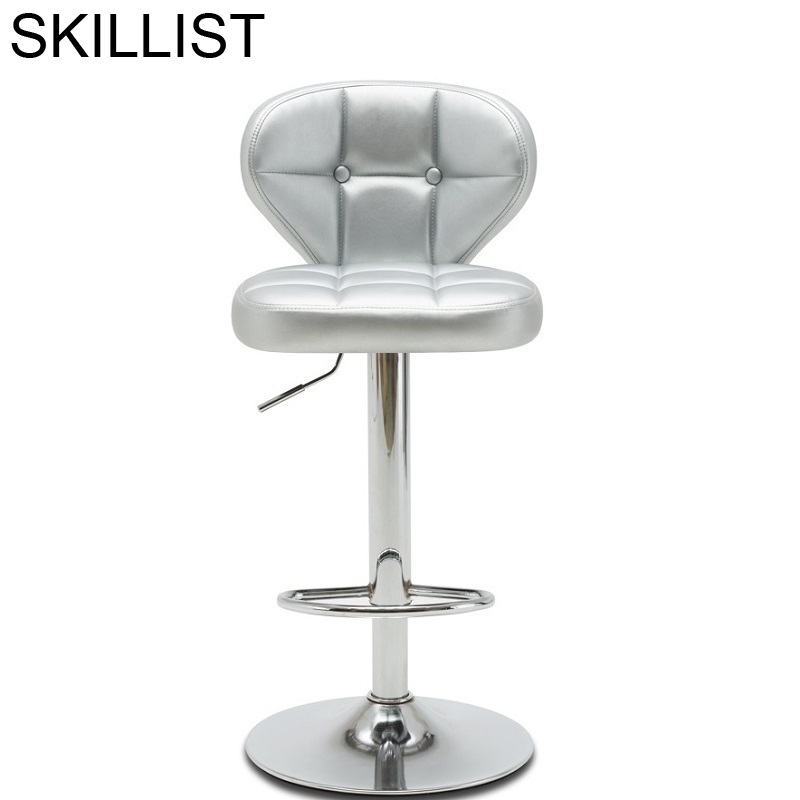 Todos Tipos Taburete La Barra Sandalyesi Ikayaa Sgabello Stuhl Sedia Hokery Leather Cadeira Tabouret De Moderne Silla Bar Chair