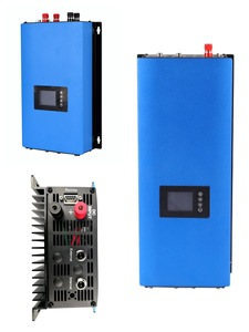 Image 1 - 2000W Grid Tie Solar Inverter with Limiter for solar panels battery home PV on grid connected 2KW