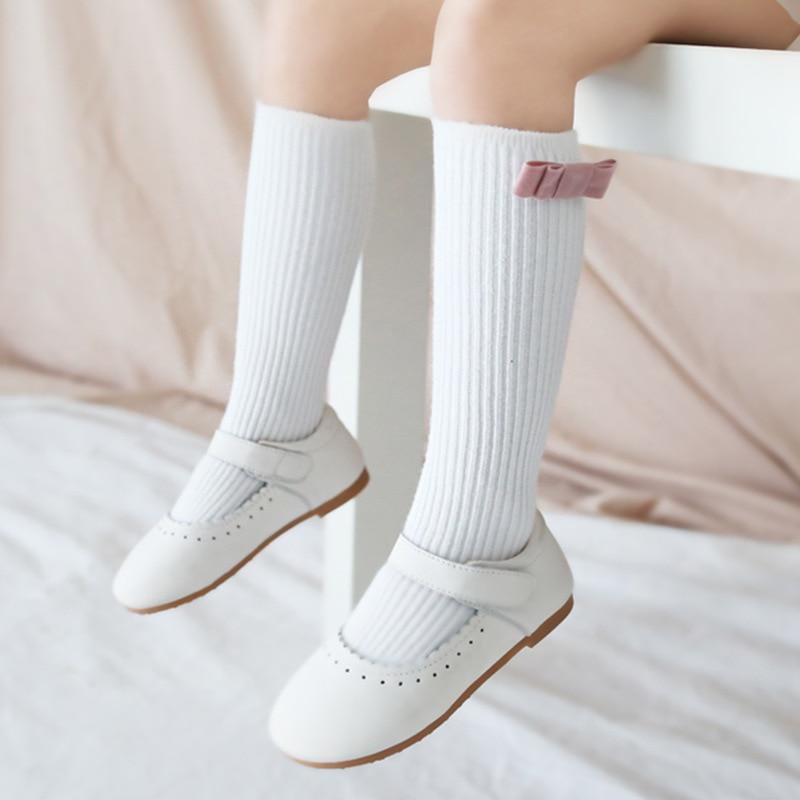 Knee High Baby Socks Newborn Socks Girls Cotton Cartoon Infant Baby Boys Socks Anti Slip Casual Autumn Winter Baby Leg Warmers