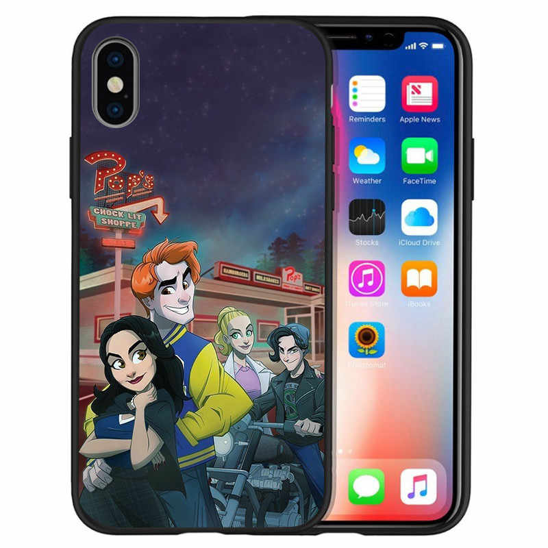 Роскошный Американский ТВ ривердейл саутсайд для iPhone X XR XS Max 5 5S SE 6 6S 7 8 Plus чехол для телефона Funda Coque Etui capa
