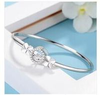 LB023 925 sterling silver bracelet with box