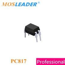 Mosleader PC817 DIP4 1000 шт., PC817C Relpace EL817, сделано в Китае, высококачественные оптопары