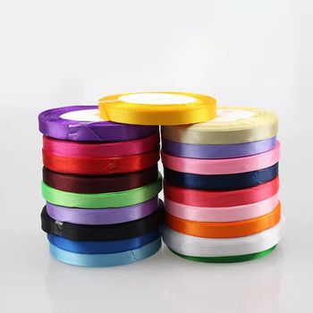 1cm wide Ribbon for rose bear gift box Wedding Christmas Party Decorations DIY  Craft Ribbons Wrapping Supplies 22m/roll striped tape fabric ribbon diy craft bow tie material apparel sewing gift wrapping christmas wedding party ribbons 10 meters