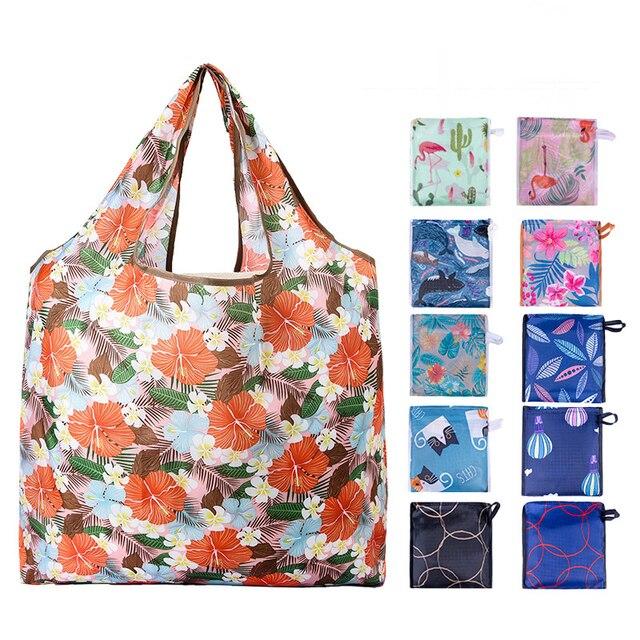 Bolsa de compras bolsa de frutas vegetais mercearia bolsa de organizador de mercado de ceia bolso portátil reutilizável pode design personalizado