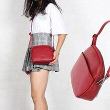 Shoulder-Bag Crossbody-Bag Genuine-Leather Phone-Pocket Woman Ladies New-Fashion Luxury