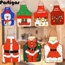 Frohe Weihnachten Schürze Chrismas Dekorationen für Home 2021 Weihnachten Decor Noel 2020 Frohes Neues Jahr Ornamente Weihnachten Geschenk