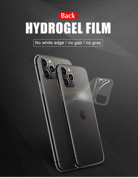 10pcs Back Protective Hydrogel Film Cover For IPhone 12 11 Pro 6 6s 8 7 Plus XR X XS Max Full Screen Protector Soft Film