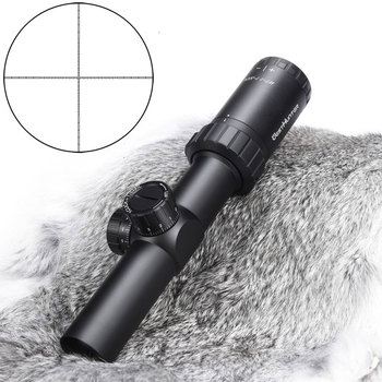 WESTHUNTER WT-1 1-5X24 Compact Scope Hunting Long Eye Relief Riflescope Mil Dot Lockable Turret Optics Sights For Airsoft Gun