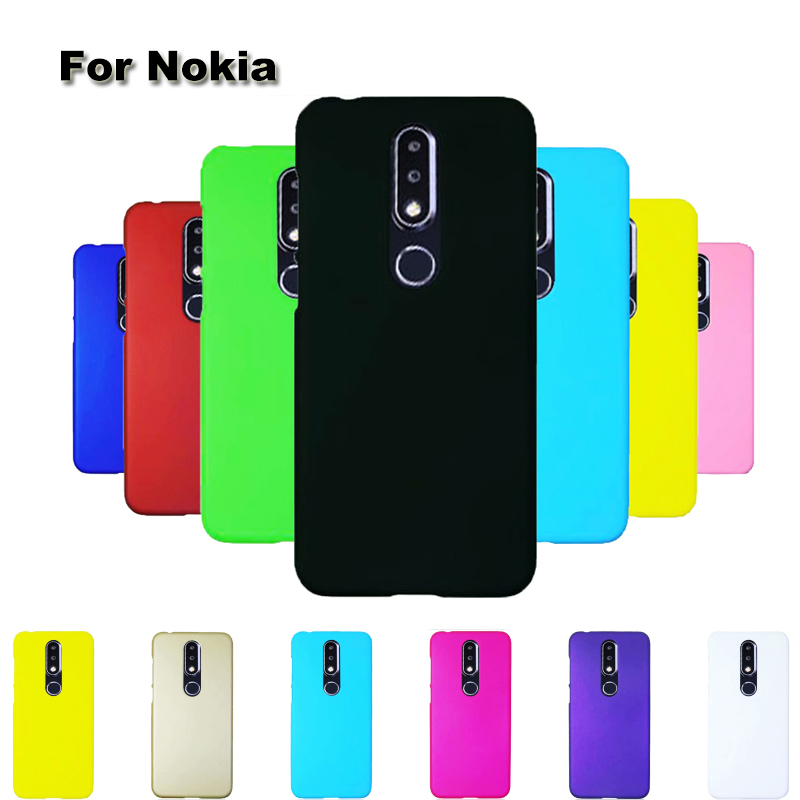 Hard Matte Candy PC Cute Plastic Plastic Shockproof Case For <font><b>Nokia</b></font> 2.2 3.2 8.1 1 3.1 <font><b>7.1</b></font> 5.1 6.1 6.1 PLUS 4.2 9 <font><b>Back</b></font> Case <font><b>Cover</b></font> image