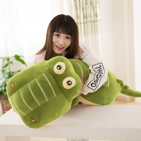 60cm Soft Stuffed Animals Plush Toys Crocodile Pillow Creative Down Cotton Animal Doll Plush Toys for Children Birthday Gifts