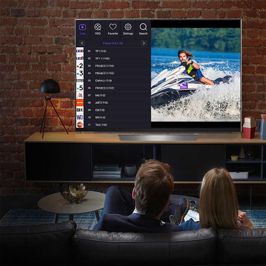 Satxtrem IPTV Thuê Bao Máy Chủ Châu Âu Bồ Đào Nha Tây Ban Nha Pháp Tiếng Ả Rập IPTV M3U Enigma2 Abonnement Cho TV Android TV Box & Điện Thoại